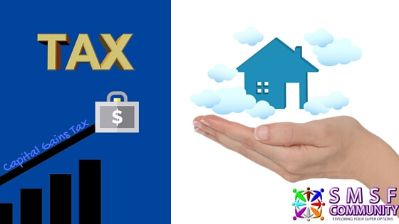 Capital Gains Tax is on the rise while a female hand holds the dream of an investment property.